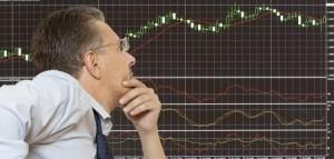 stock broker waiting